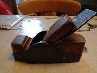Vintage Cast Steel Infill Smoothing Plane