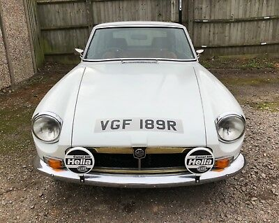 MGB GT Wire Wheels Chrome Bumpers TAX/MOT EXEMPT NO RESERVE MGBGT 1977 HPI Clear