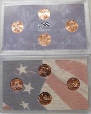 2009 PD Lincoln Memorial Cents BU Cents from OBW Coin US Mint. 2 sets & 8 coins