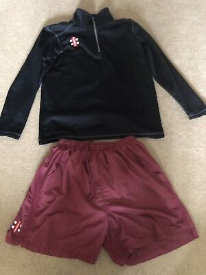 Gray Nicolls Training Gear Shorts And Top Large