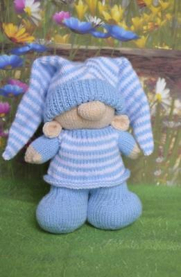 Bedtime Gnome Toy Knitting Pattern Instructions To Make Yourself Kbp 273