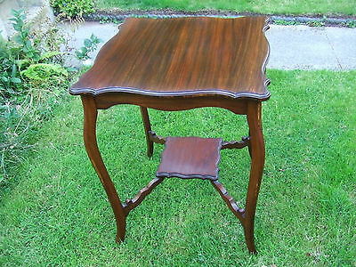 High Quality Mahogany Occassional Table / Antique / cheaper if paying cash on co