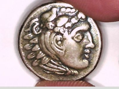 Asia Macedon Drachm Silver Plate Alexander III The Great Magnesia Repro coin
