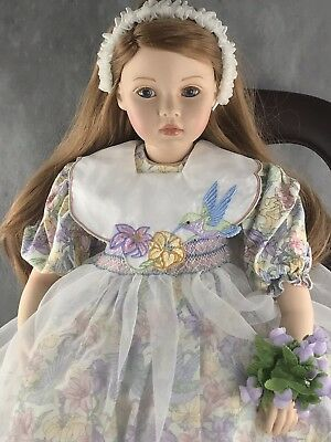 Mary Frances by Pauline Bjonness Jacobsen Limited Edition Porcelain doll