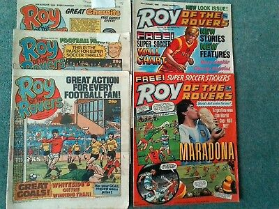 Roy of the rovers comics 1986