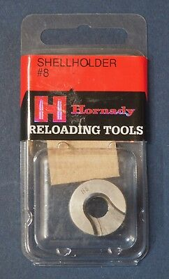 Hornady #8 Shell Holder-(90548) NEW-in package