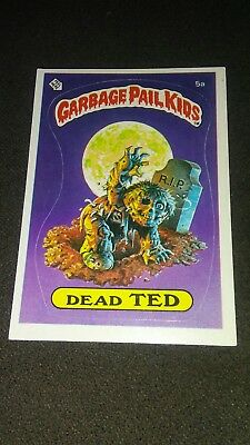 Garbage Pail Kids Card Dead Ted 5A