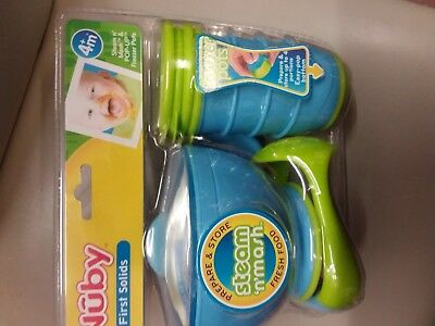 Nuby first solids steam n mash New