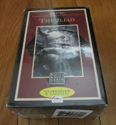 The Iliad - Complete and Unabridged by Homer New Sealed Cassettes Classics