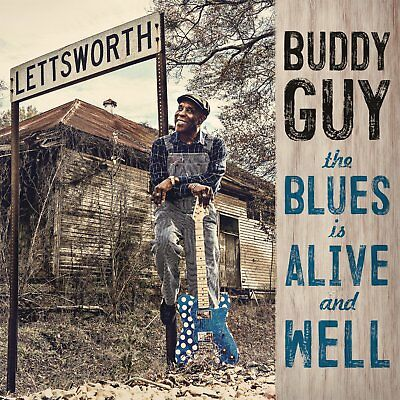 The Blues Is Alive And Well Buddy Guy CD New USA Seller
