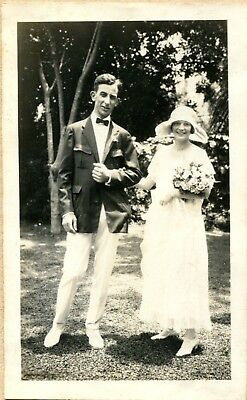 Antique Lace Wedding Dress from 1924