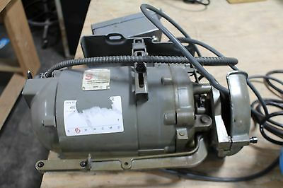 Vintage Singer Sewing Machine Industrial Motor 1/3 Hp 1725 Rpm Cat.# S523161