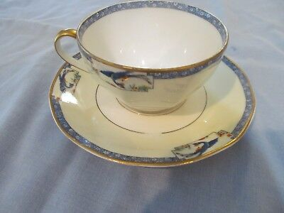 Theodore Haviland - Limoges, France - Rani - Cup and Saucer Set vintage PHYNIX