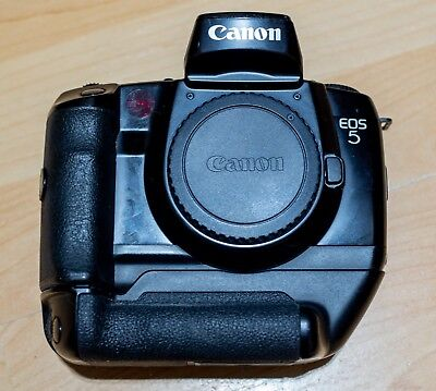 Canon EOS 5 / A2 35mm SLR Film Camera Body Only with Vertical Grip