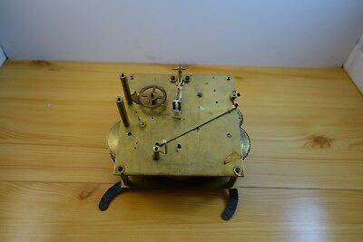 Wurttemberg Clock Movement For Spares Or Repairs