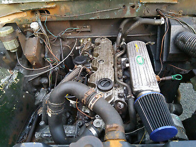 Land rover series 3 109 200di Running Project