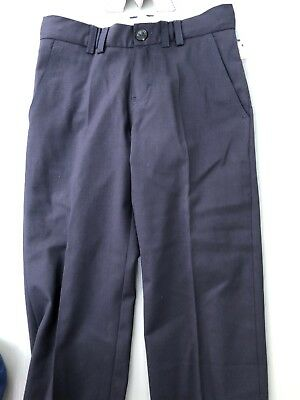 Burberry Navy Wool Trousers Size 8 Years