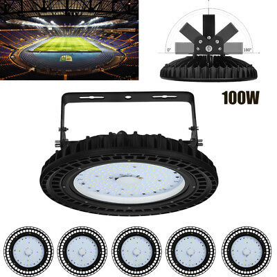 6X100W NEW UFO LED High Bay Light Industrial Factory Warehouse Lighting Supplies