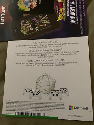 Xbox Live 14 Days 2 Weeks Trial Gold Code 14 Day - Instant DISPATCH 2 Week Now