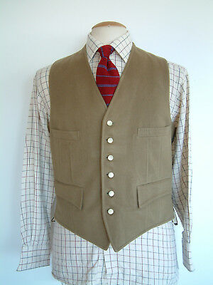 """Strachan & Co. Ltd Waistcoat..38""""..'Established In The Coaching Days'..england"""