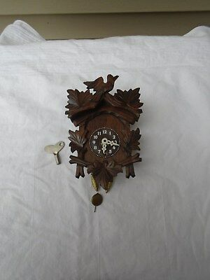 Vintage Mini Coo Coo Clock Made in Germany