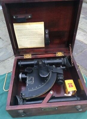 Ball Recording Sextant Mergenthaler Linotype  Mark 1 Mod 0 1944 Us Navy