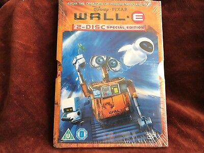 WALL.E 2 Disc Special Collector's Edition-NEW SEALED DVD