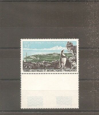Timbre France Frankreich Taaf Terres Australes 1968 Pa N°14 Neuf** Mnh
