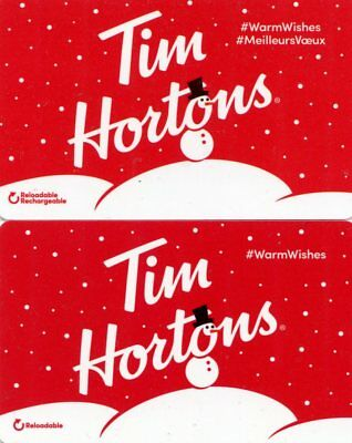 Tim Horton Gift Cards - Canadian & American Issues