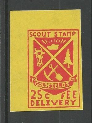 1984 New Zealand Scout 10th Jamboree Coldfields label