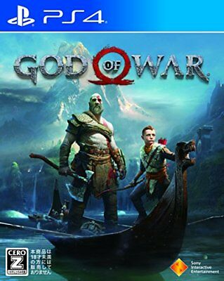 Ps4 God Of War Japan Sony Playstation 4 Import Japanese Game New