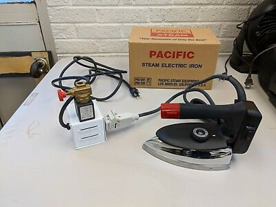 Electric Steam Iron and Steam Regulator By Pacific Steam Model PS-201