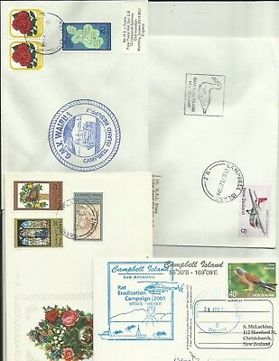 New Zealand modern Campbell Island covers x 4