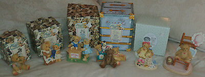 Cherished Teddies Lot of 6 - Most with boxes