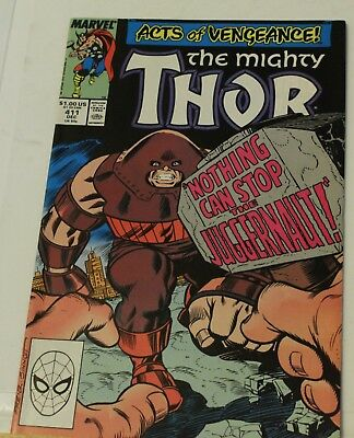 mighty thor #411 acts of vengeance 1st appearance new warriors 1989