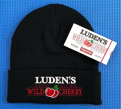 165e5255 Supreme Luden's Hat Beanie WITH COUGH DROPS Combo FW18 NWT Brand New SOLD  OUT
