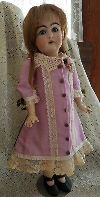 """Antique Style French Dress for your 20-21"""" French or German Dolls"""