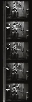 Laurel and Hardy County Hospital 35mm Film Cell strip very Rare c131