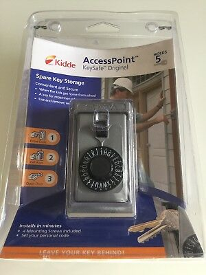 NEW KIDDE ACCESSPOINT Key Safe Original 5-Key - Key Box