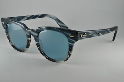 031c2b092a0 Ray Ban Sunglasses RB 2168 125262 Blue Gradient Grey Stripped