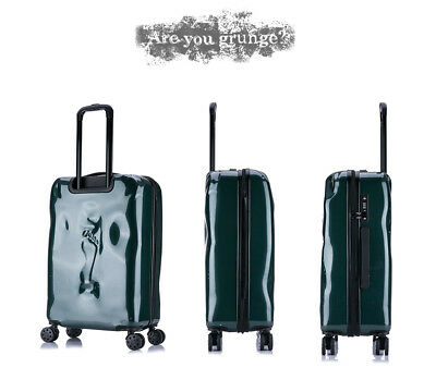 E30 Green Coded Lock Universal Wheel Travel Suitcase Luggage 24 Inches W