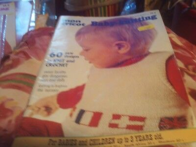 Mon Tricot Baby Knitting Special 72/73 60 New Designs To Knit And Crochet