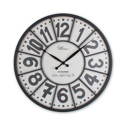40 Cm Wrought Vintage Wall Clock by Regal