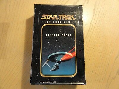 Large lot of Fleer Skybox Star Trek the Card Game 1996  cards in trade box