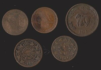 Indian Princely States Mixed Bronzes