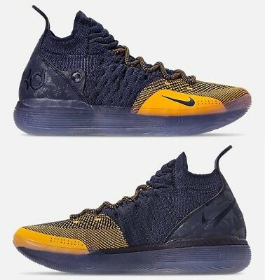 low cost 39411 ceb77 Nike Zoom Kd 11 HOMME Basketball Collège Marine - University or Authentic  Neuf