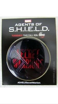 ABC Marvel Agents of Shield & Agent Carter Comic Con pin lot promo Ultra rare