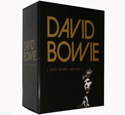 David Bowie 5 Five Years 1969 - 1973 CD Box Set New NO RESERVE