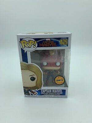 Funko Pop! Marvel Captain Marvel (Masked) #425 Chase New *IN HAND*