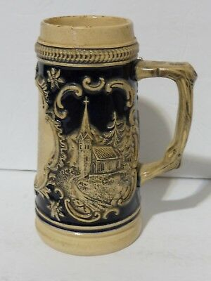 Vintage Handarbeit German Beer Stein Made in Germany